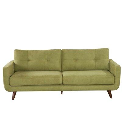 Samuel Mid-Modern Century Sofa Upholstery: Olive Green