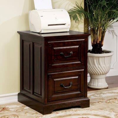 Appleby Transitional 2-Drawer Dark Walnut Vertical Filing Cabinet DABY4530 39310395