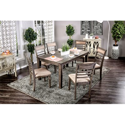 Daniel Transitional 7 Piece Dining Set