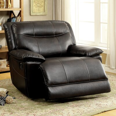 Dartmouth Manual Glider Recliner Upholstery: Brown