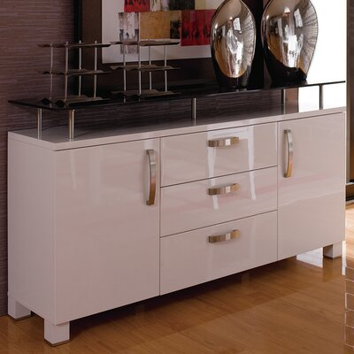 Dian Modern Credenza Color: High Gloss Lacquer