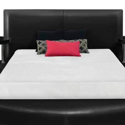 Pesaro Upholstered Headboard Size: King, Finish: Black