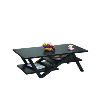 Buy low price hokku designs caleb coffee table in matte for Buy black coffee table