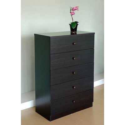 Credit for York Modern 5 Drawer Chest...