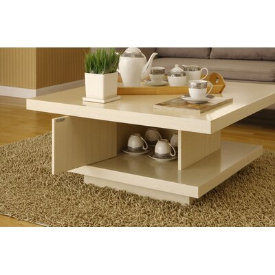In store financing Audra Coffee Table Finish: Ivory...