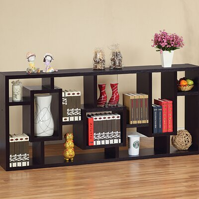 Hokku Designs Bradshaw Unique Bookcase / Display Cabinet in Red Cocoa at Sears.com