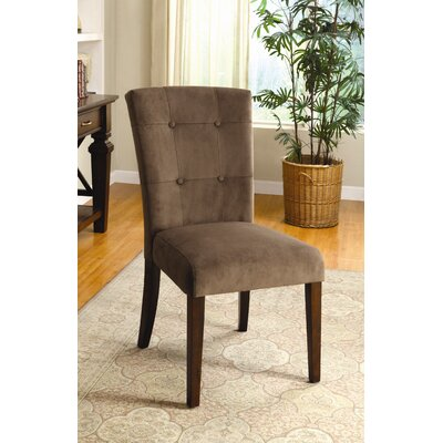 Easy financing Zoie Velvet Parsons Chair (Set of 2...