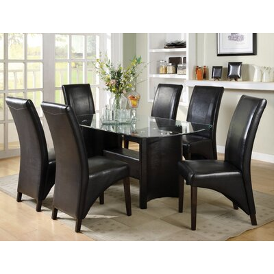 Picture Of Hokku Designs Madison 7 Piece Dining Set In Large Size