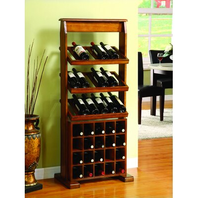 Medeley 38 Bottle Floor Wine Rack