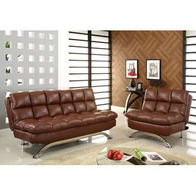 Pennock Leather Configurable Living Room Set