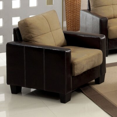 Townsend Arm Chair Upholstery Color: Dark Taupe