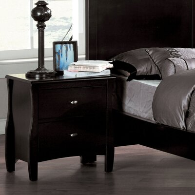 Warwick 2 Drawer Nightstand