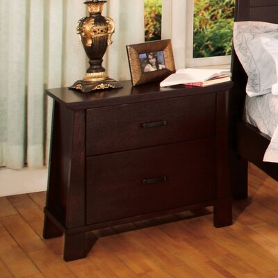 Peyton Two Drawer Nightstand