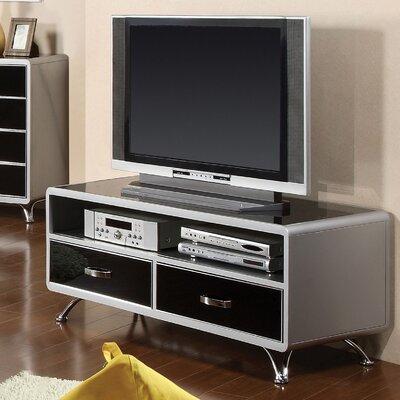 Buy Low Price Hokku Designs Modesto Metal Media Chest in Silver and Black Tones (KUI2839)