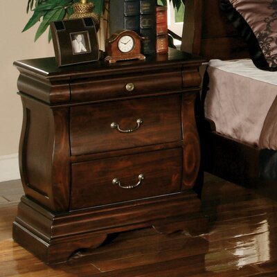 Liverpool 3 Drawer Nightstand