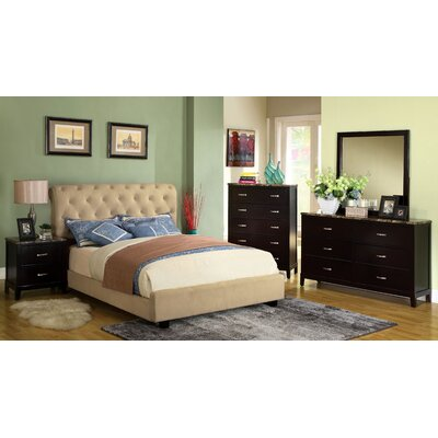 Concord Upholstered Sleigh Headboard Size: Queen