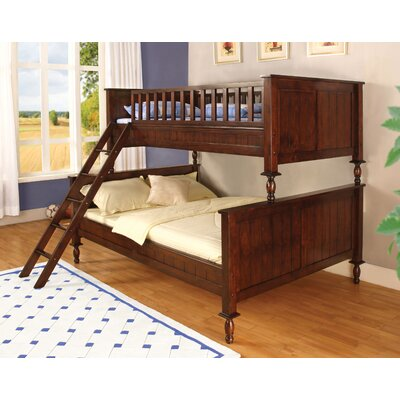 Milton Twin over Full Futon Bunk Bed