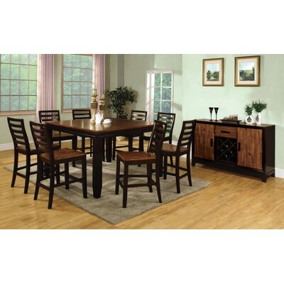 Low Price Hokku Designs Marion 9 Piece Counter Height Dining Set