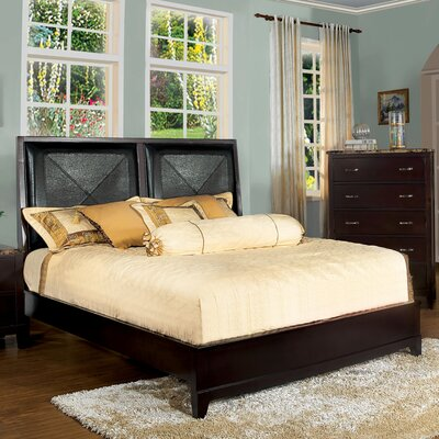 Credit for Willow Panel Bed Size: King...