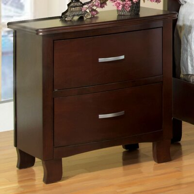 Vandenberg 2 Drawer Nightstand