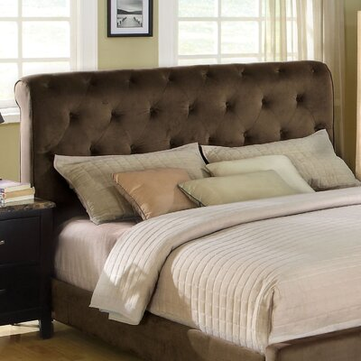 Easy financing Oscar Upholstered Headboard Size: F...