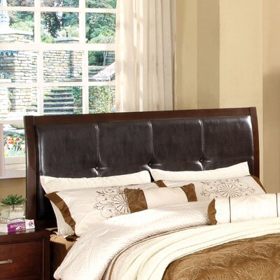 Bravo Upholstered Sleigh Headboard Size: Queen