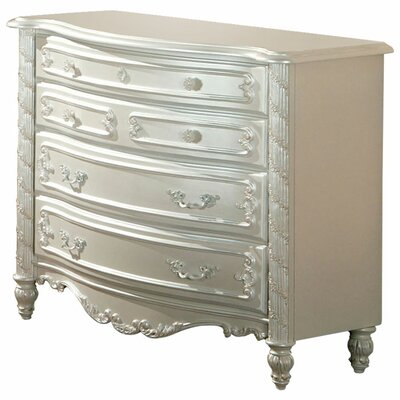 Victoria Dresser with Floral Motif