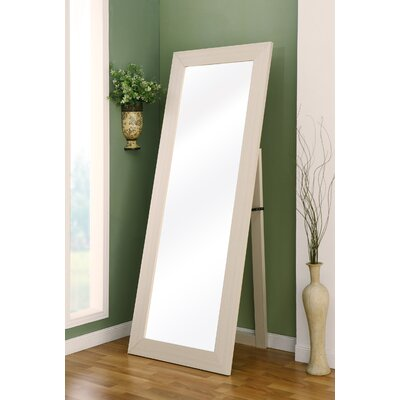 Hokku Designs Lexi Wall Mount Cheval Mirror - Finish: Ivory at Sears.com