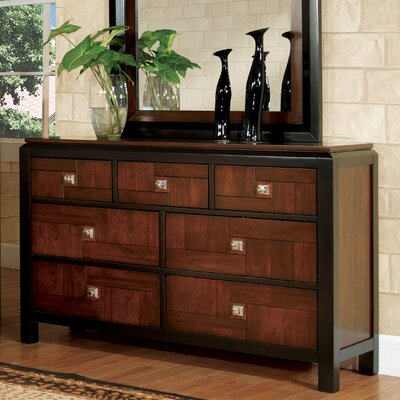 Diamondback 7 Drawer Dresser