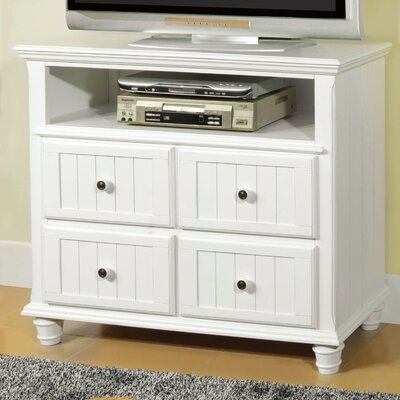 Rent Delano 4 Drawer Dresser Finish: Whi...