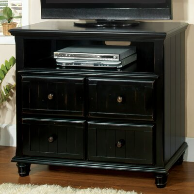 Furniture rental Delano 4 Drawer Dresser Finish: Bla...