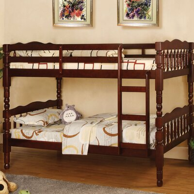 Baltimore Twin Bunk Bed Finish: Cherry