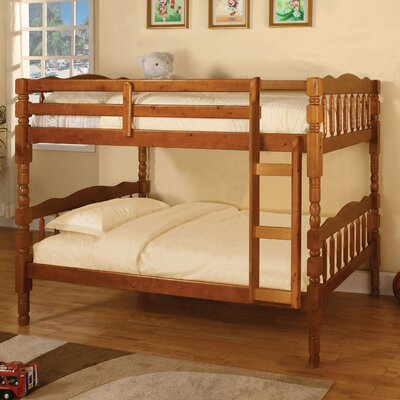 Baltimore Twin Bunk Bed Finish: Oak