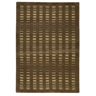 Skyline Brown Area Rug Rug Size: 83 x 116