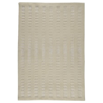 Skyline White Area Rug Rug Size: 83 x 116