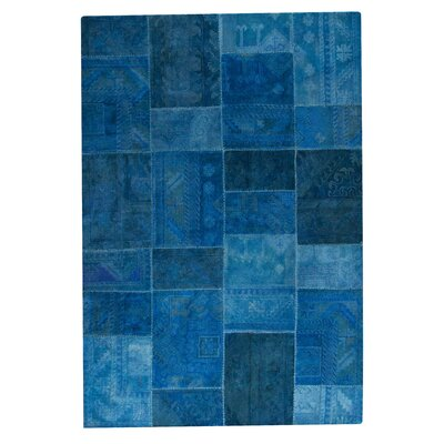 Satinath Turquoise Area Rug Rug Size: 52 x 76