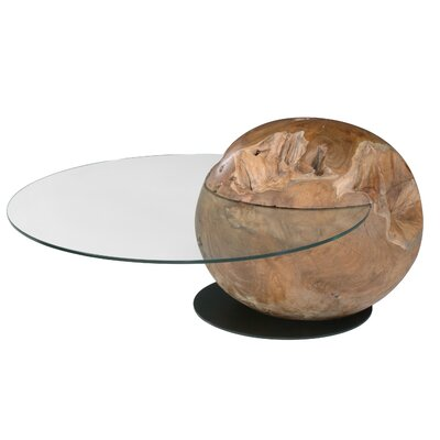 Orb Coffee Table with Tray Top