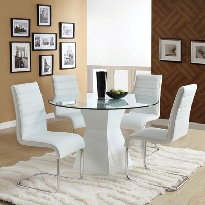 Monaco Dining Table Table Finish White