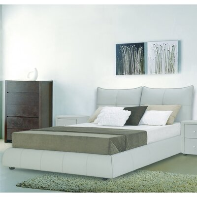Excite Upholstered Platform Bed Size: King