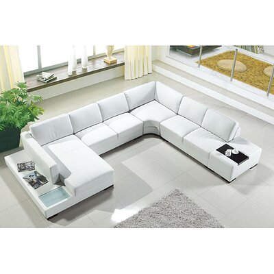 Artistant Sectional Upholstery: Gray, Orientation: Right Hand Facing