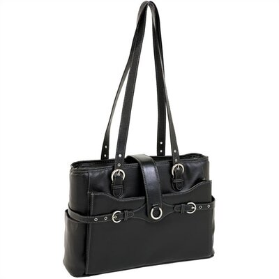 Fratti Leather Laptop Tote