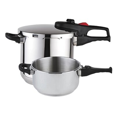 Magefesa Practika Plus 3 Piece Stainless Steel Super Fast Pressure Cooker Set at Sears.com