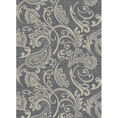 Galleria Gabrielle Gray Area Rug Rug Size: 710 x 910