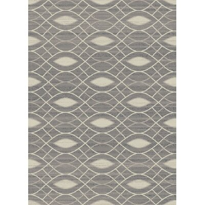Galleria Serenity Gray/Beige Area Rug Rug Size: 710 x 910