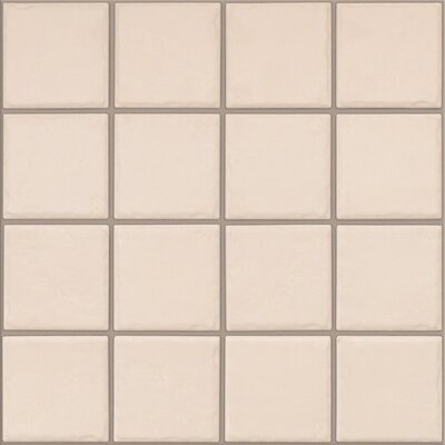 Fenton 3 x 3 Ceramic Mosaic Tile in Oatmeal (Set of 3)