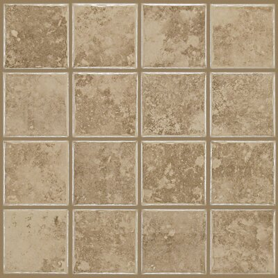 Fenton 3 x 3 Ceramic Mosaic Tile in Swiss