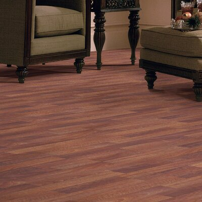 Rosswood Plus 8 x 48 x 9.53mm Jatoba Laminate in Emberglow