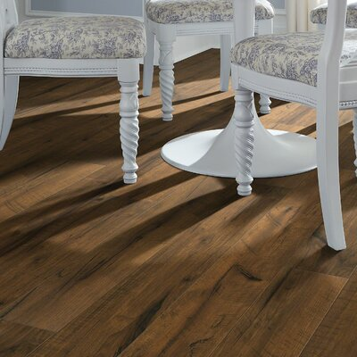 Milbank Hickory 5.43 x 47.72 Laminate Flooring in Levan Hickory