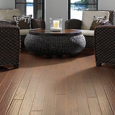 Portland 5 Engineered Hickory Hardwood Flooring in Boulevard