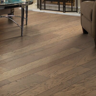 Hastings Random Width Engineered Hickory Hardwood Flooring in Pioneer